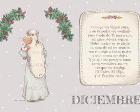 DICIEMBRE (calendario maria madre)