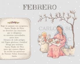 FEBRERO (calendario maria madre)