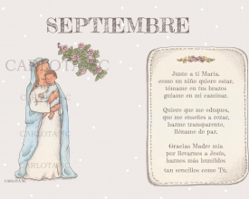 SEPTIEMBRE (calendario maria madre)