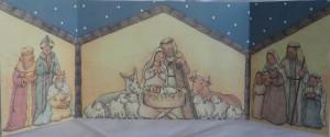 triptico navidad